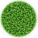 miyuki rocailles 11/0 - opaque green