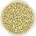 miyuki seed beads 11/0 - duracoat galvanized matte silver
