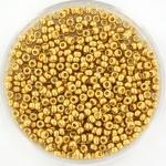 miyuki seed beads 11/0 - duracoat galvanized gold