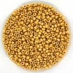 miyuki seed beads 11/0 - duracoat galvanized matte gold