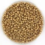 miyuki seed beads 11/0 - duracoat galvanized matte champagne