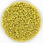 miyuki seed beads 11/0 - duracoat galvanized zest