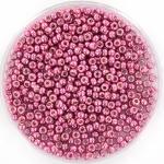 miyuki seed beads 11/0 - duracoat galvanized hot pink