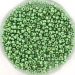 miyuki rocailles 11/0 - duracoat galvanized dark mint green