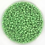 miyuki rocailles 11/0 - duracoat galvanized matte dark mint green