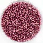 miyuki seed beads 11/0 - duracoat galvanized magenta