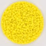 miyuki seed beads 11/0 - opaque luster yellow