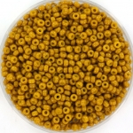 miyuki seed beads 11/0 - duracoat opaque hawthorne