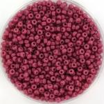 miyuki seed beads 11/0 - duracoat opaque pansy