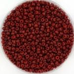 miyuki seed beads 11/0 - duracoat opaque maroon