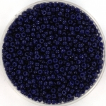 miyuki seed beads 11/0 - duracoat opaque dyed dark navy blue