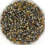 miyuki seed beads 11/0 - Czech coating crystal marea