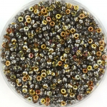 miyuki rocailles 11/0 - Czech coating crystal marea