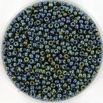 miyuki rocailles 11/0 - metallic iris gunmetal