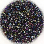 miyuki seed beads 11/0 - Czech coating magic blue