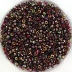 miyuki seed beads 11/0 - Czech coating magic wine