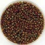 miyuki seed beads 11/0 - metallic gold iris
