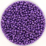 miyuki rocailles 11/0 - duracoat galvanized purple orchid