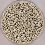 miyuki rocailles 11/0 - bright sterling plated matte