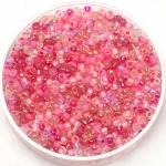miyuki rocailles 11/0 - mix pretty in pink
