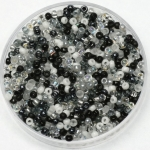 miyuki rocailles 11/0 - mix salt and pepper