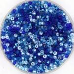miyuki seed beads 11/0 - mix blueberry pie