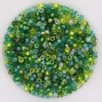 miyuki rocailles 11/0 - mix ever green