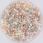 miyuki rocailles 11/0 - mix moonstone