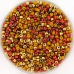 miyuki seed beads 11/0 - sahara storm