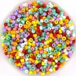 miyuki seed beads 11/0 - happy carnival