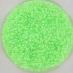 miyuki rocailles 15/0 - luminous mint green