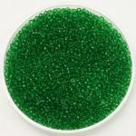 miyuki rocailles 15/0 - transparant green