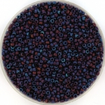 miyuki rocailles 15/0 - metallic matte iris dark raspberry