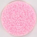 miyuki rocailles 15/0 - pink lined crystal ab