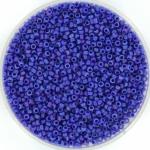 miyuki rocailles 15/0 - opaque matte ab cobalt