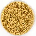 miyuki seed beads 15/0 - duracoat galvanized gold