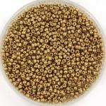 miyuki seed beads 15/0 - duracoat galvanized champagne