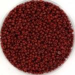 miyuki seed beads 15/0 - duracoat opaque maroon