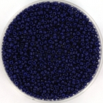 miyuki rocailles 15/0 - duracoat opaque dyed dark navy blue