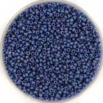 miyuki seed beads 15/0 - opaque glazed frosted rainbow bayberry
