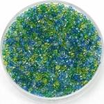 miyuki rocailles 15/0 - mix electric blue lagoon