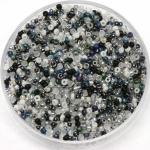 miyuki rocailles 15/0 - mix salt and pepper