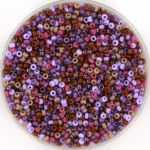 miyuki rocailles 15/0 - purple passion