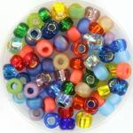miyuki seed beads 5/0 - rainbow