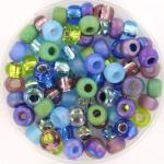 miyuki seed beads 5/0 - jeweltone