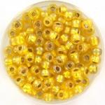 miyuki rocailles 6/0 - silverlined ab yellow