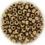 miyuki seed beads 6/0 - metallic matte dark bronze