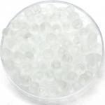 miyuki seed beads 6/0 - transparant matte crystal