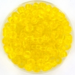 miyuki seed beads 6/0 - transparant yellow