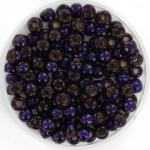 miyuki rocailles 6/0 - silverlined dyed dark purple